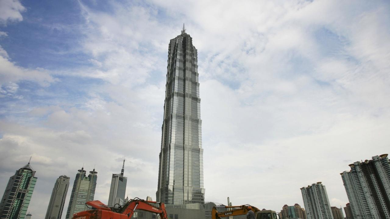 Най-високият в света хотел отвори врати в Шанхай