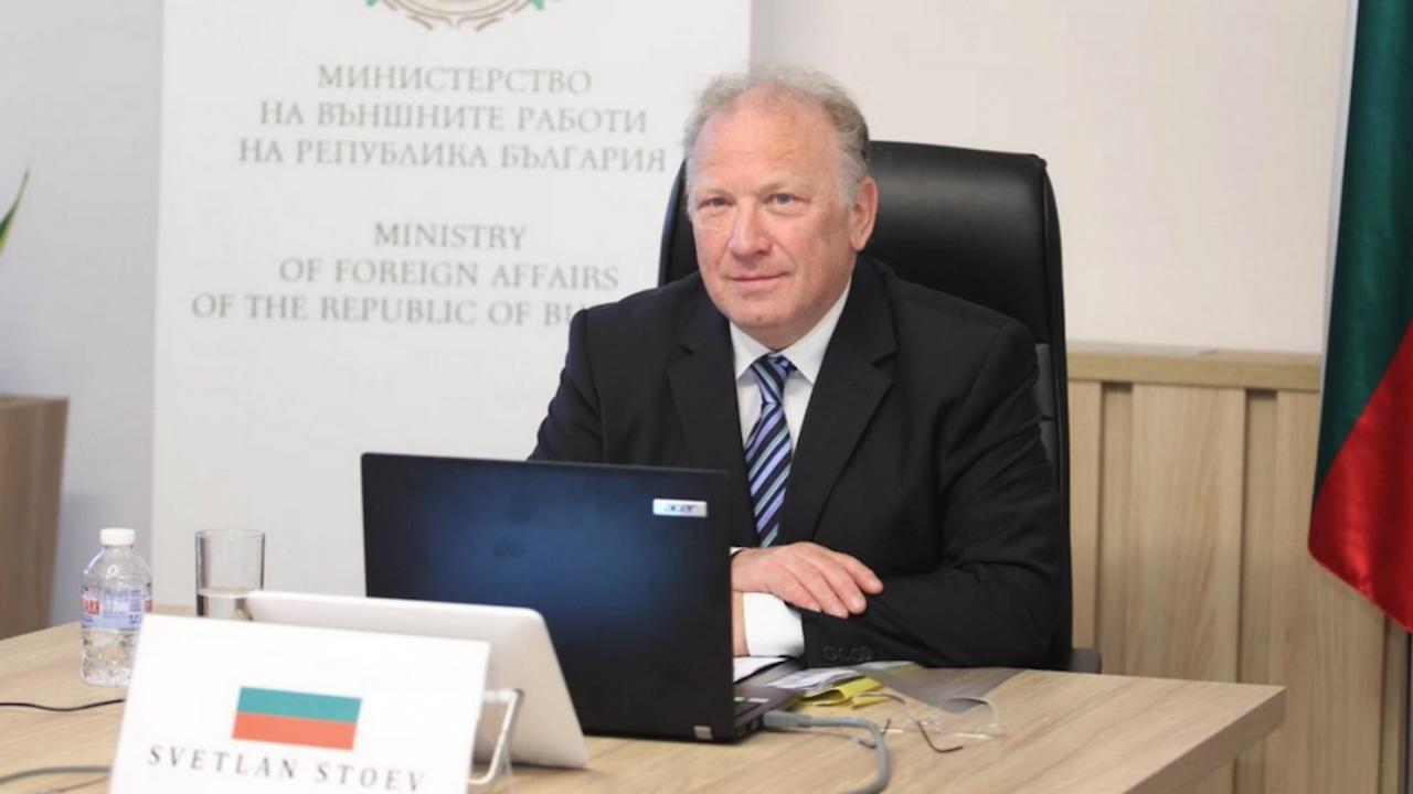 """Светлан Стоев ще участва в заседание на Съвета """"Външни работи"""""""