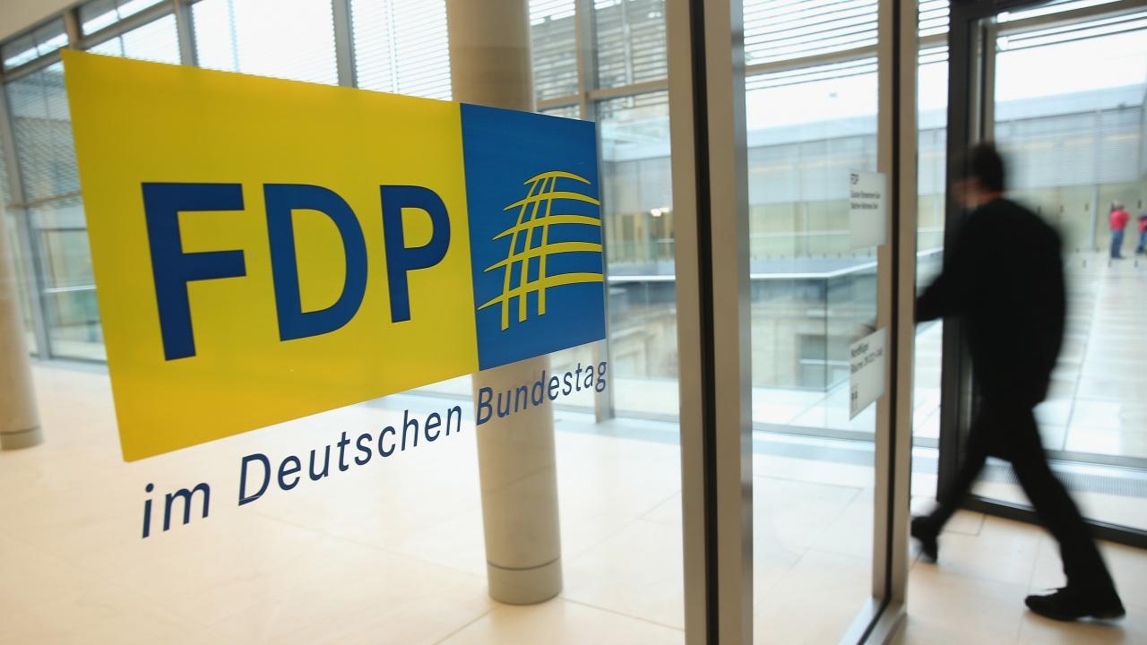 """Германската """"Свободна демократическа партия"""" изключи коалиция със Зелените"""