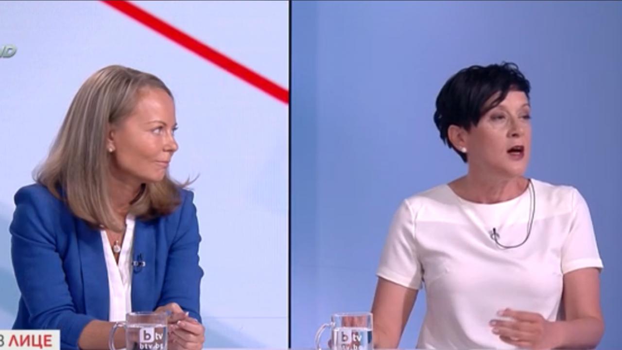 Антоанета Цонева разби в дебат Дани Каназирева по темата за машинното гласуване