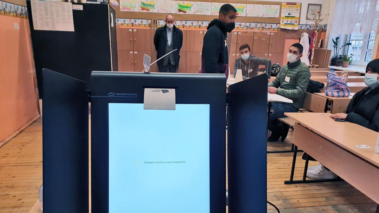 Каква е процедурата за машинно гласуване при спиране на тока?
