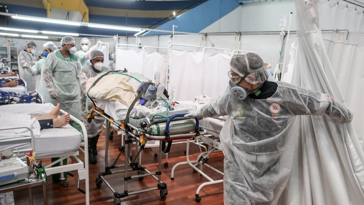 Бразилия регистрира рекорд с над 115 000 новозаразени с COVID-19 за денонощие