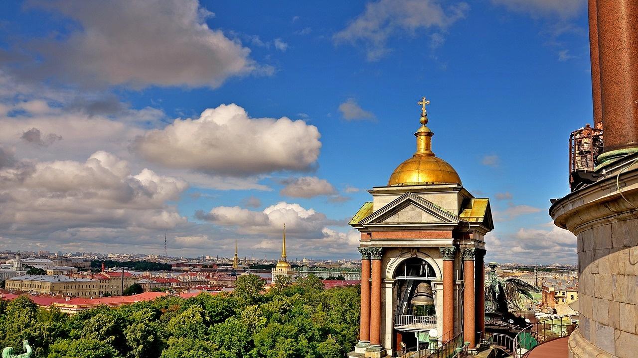 Температурен рекорд бе отбелязан в Санкт Петербург