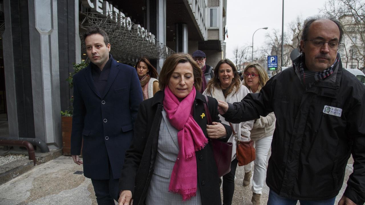 Освободените каталунски политици продължават курса към независима Каталуния