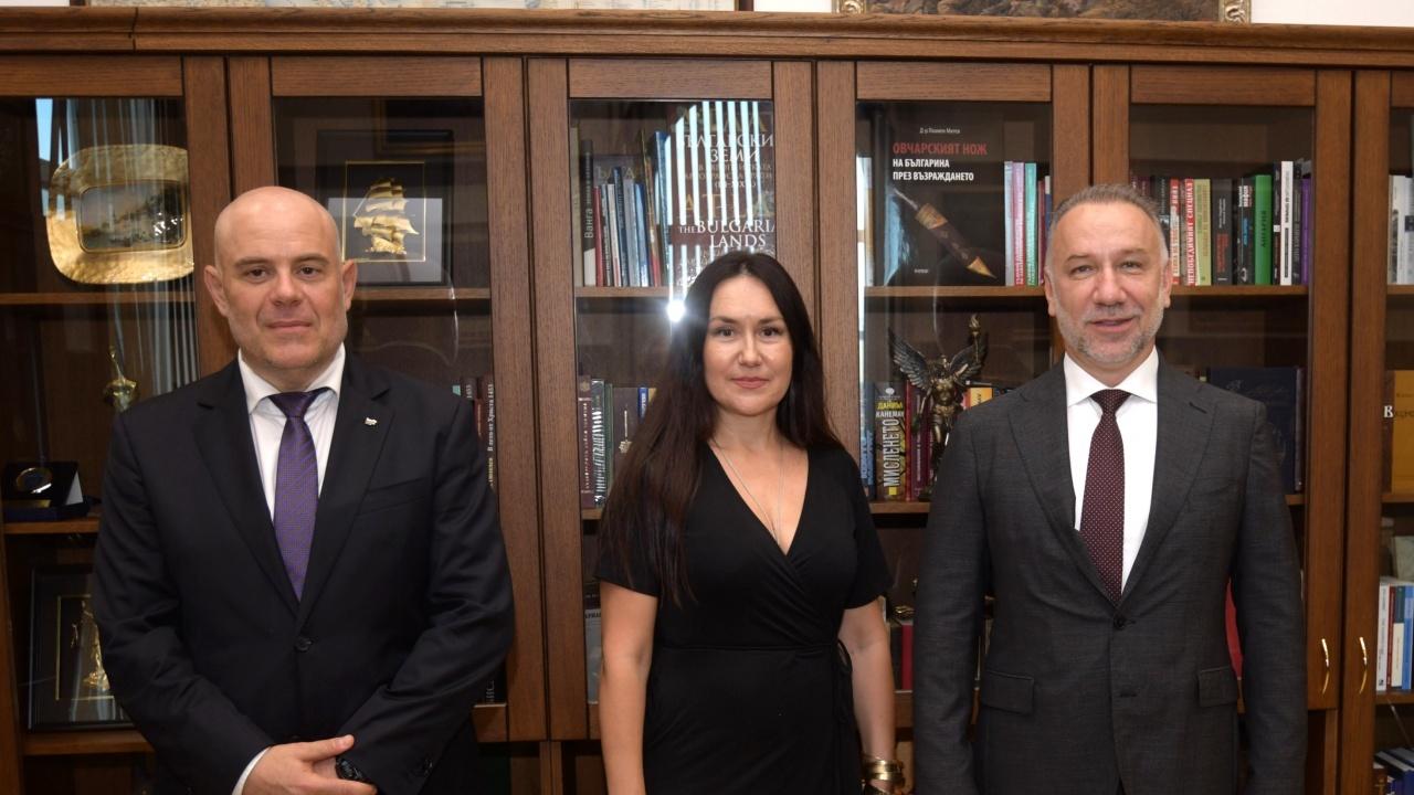 Гешев проведе работна среща с Богдан Лику, първи зам.-главен прокурор на Румъния