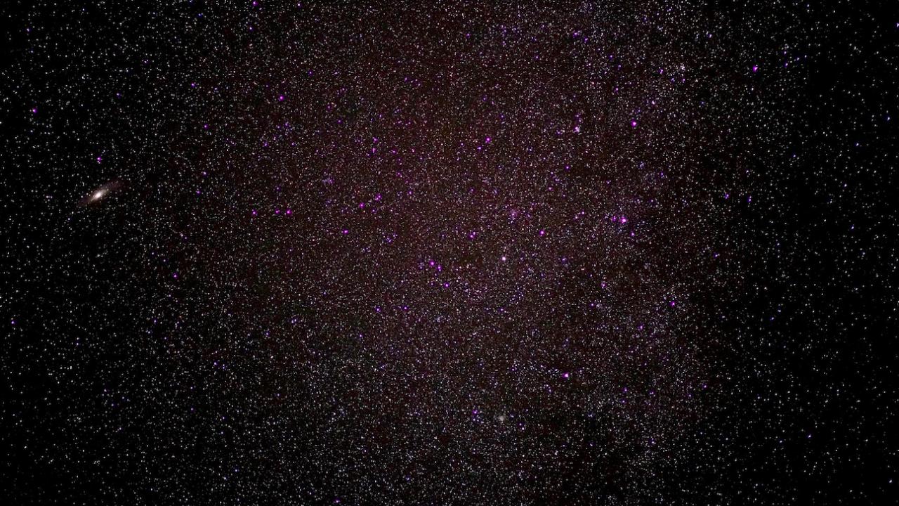 Учени откриха над 1700 звезди от съседни галактики, откъдето може да се наблюдава Земята