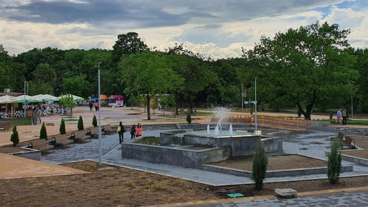 Столичната община отваря екопавилион в Северния парк