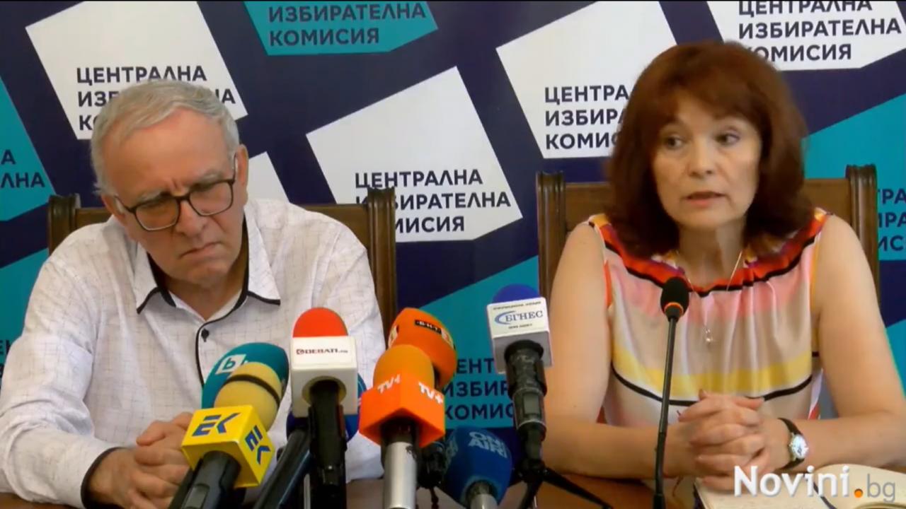 ЦИК: На 11 юли ще има опити за саботажи, вече се саботира нашата работа, както и тази на различни РИК и СИК