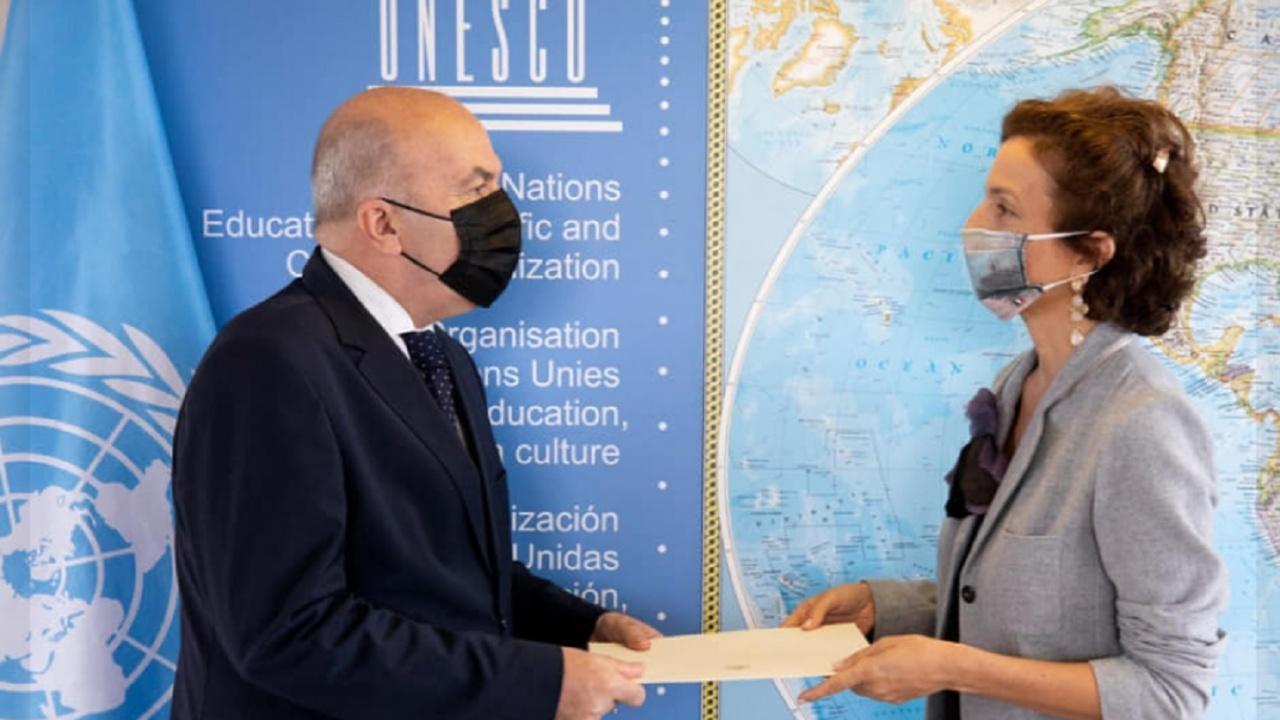 Николай Милков е новият постоянен представител към ЮНЕСКО