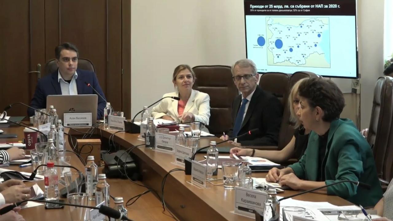 НА ЖИВО: Асен Василев с последни данни за разходите на държавата