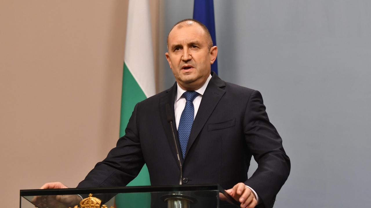 Румен Радев: Категорично подкрепям идеята за среща между ЕС и Русия