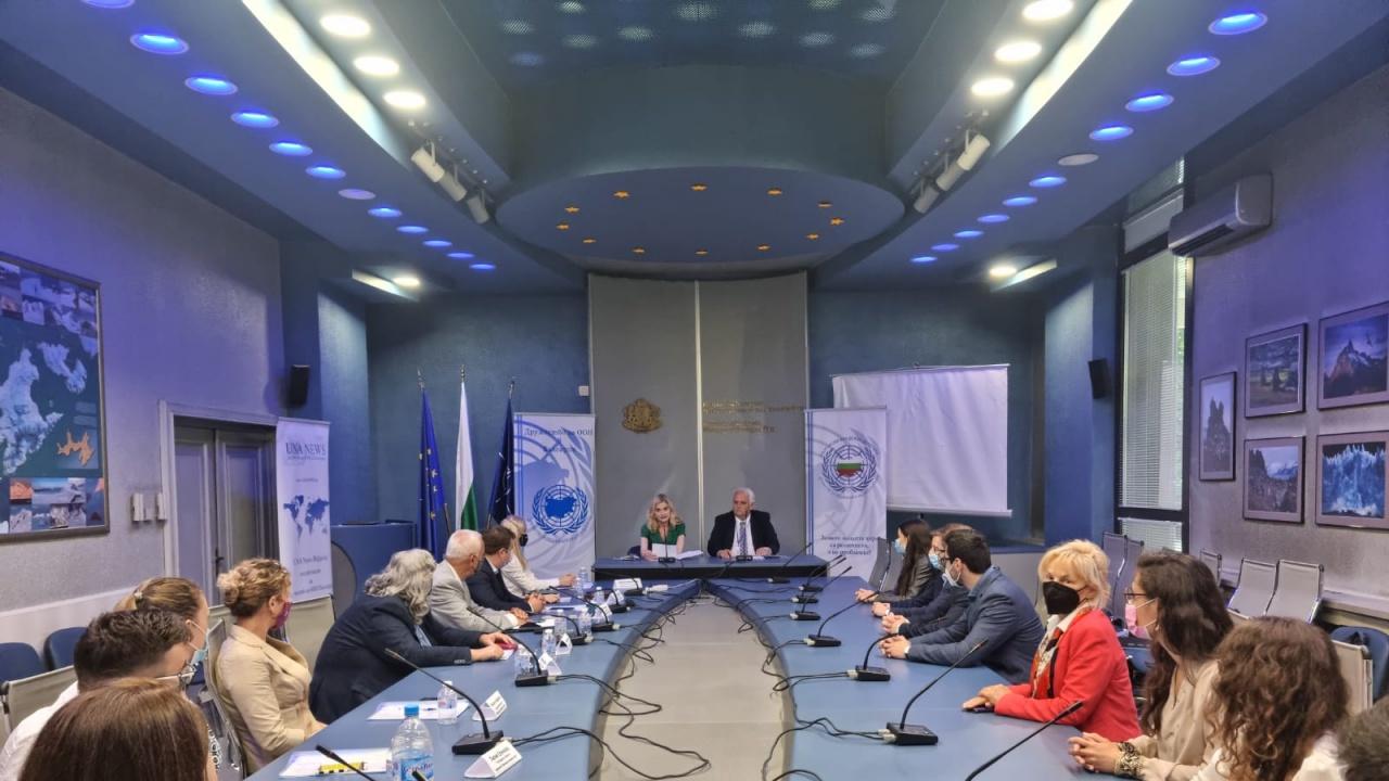 Заместник-министърът на външните работи Зарица Динкова обяви новите български младежки делегати към ООН