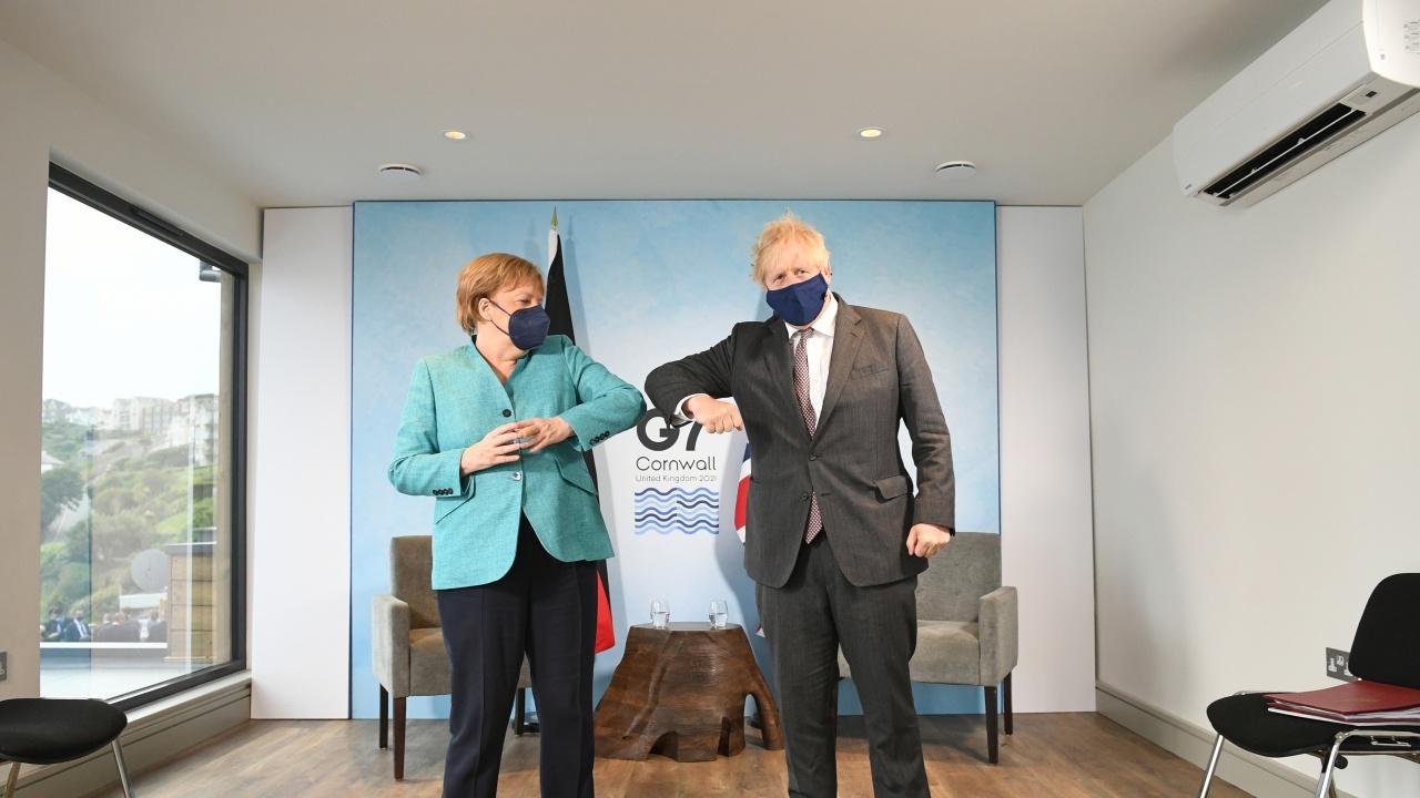 Борис Джонсън ще приеме Меркел следващата седмица
