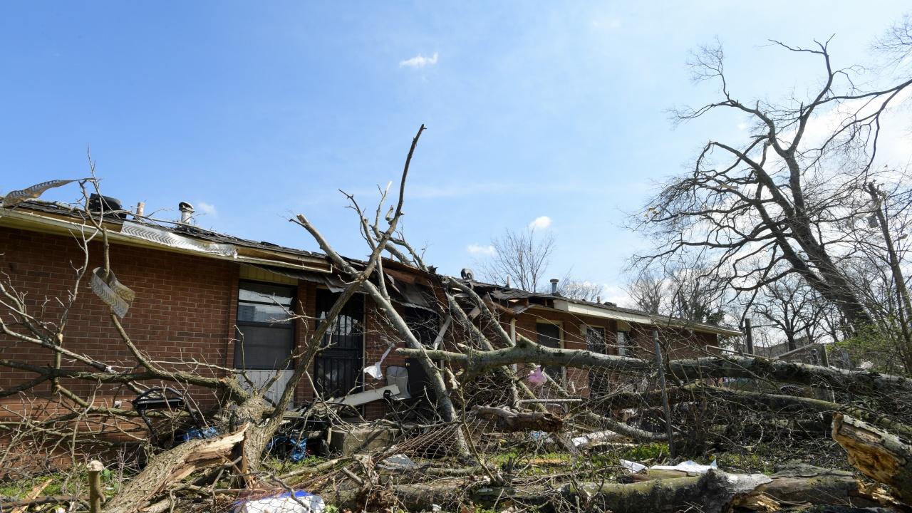 Щетите от торнадото в Чехия се изчисляват на стотици милиони крони