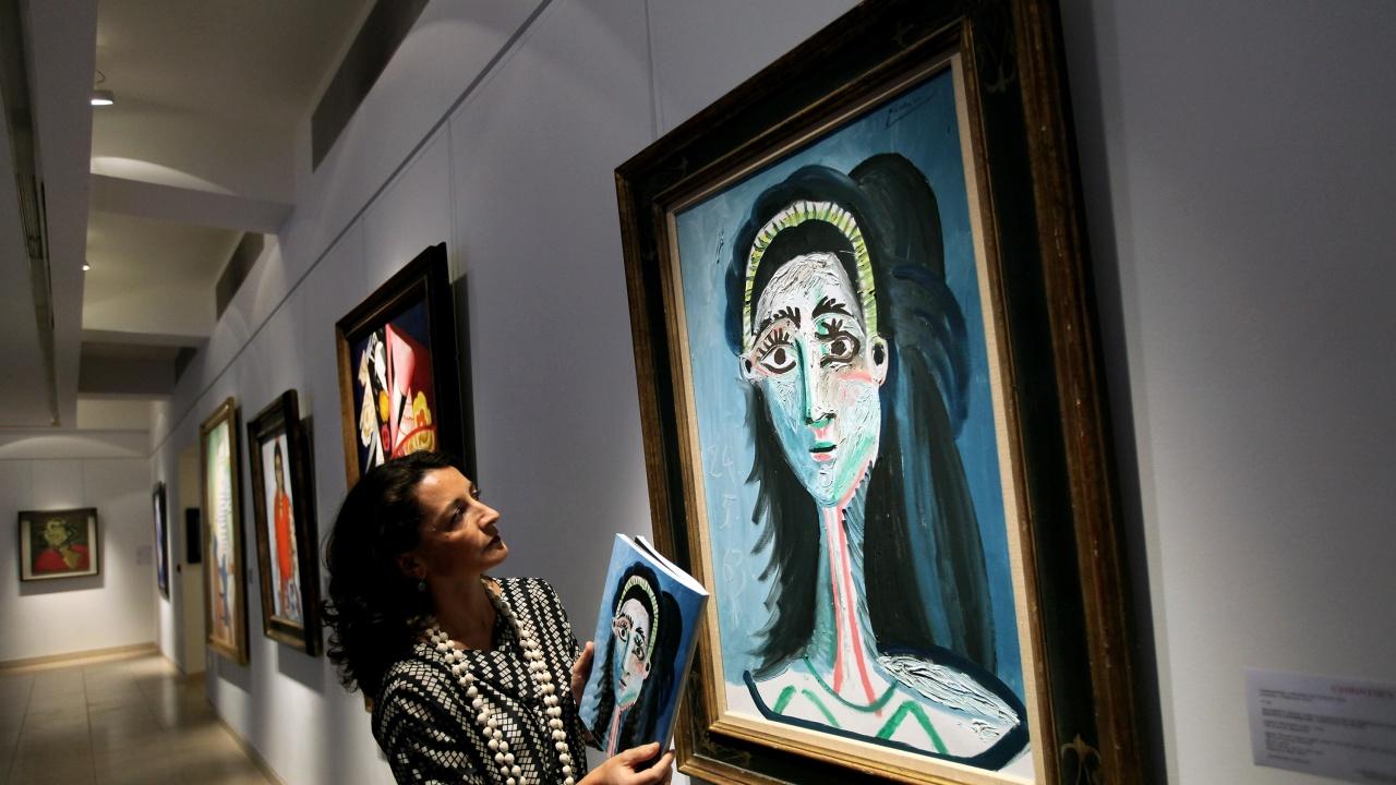 Гръцката полиция откри откраднати картини на Пикасо и Мондриан