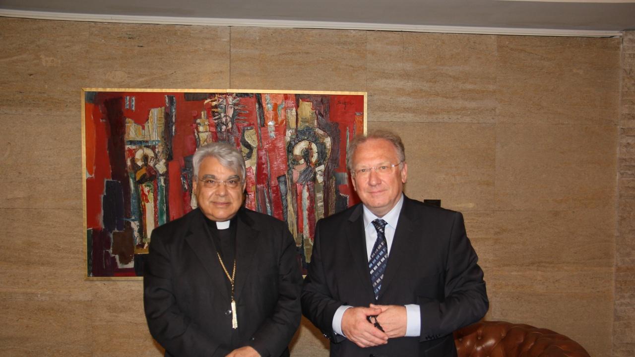 Светлан Стоев се срещна с кардинал Марчело Семераро