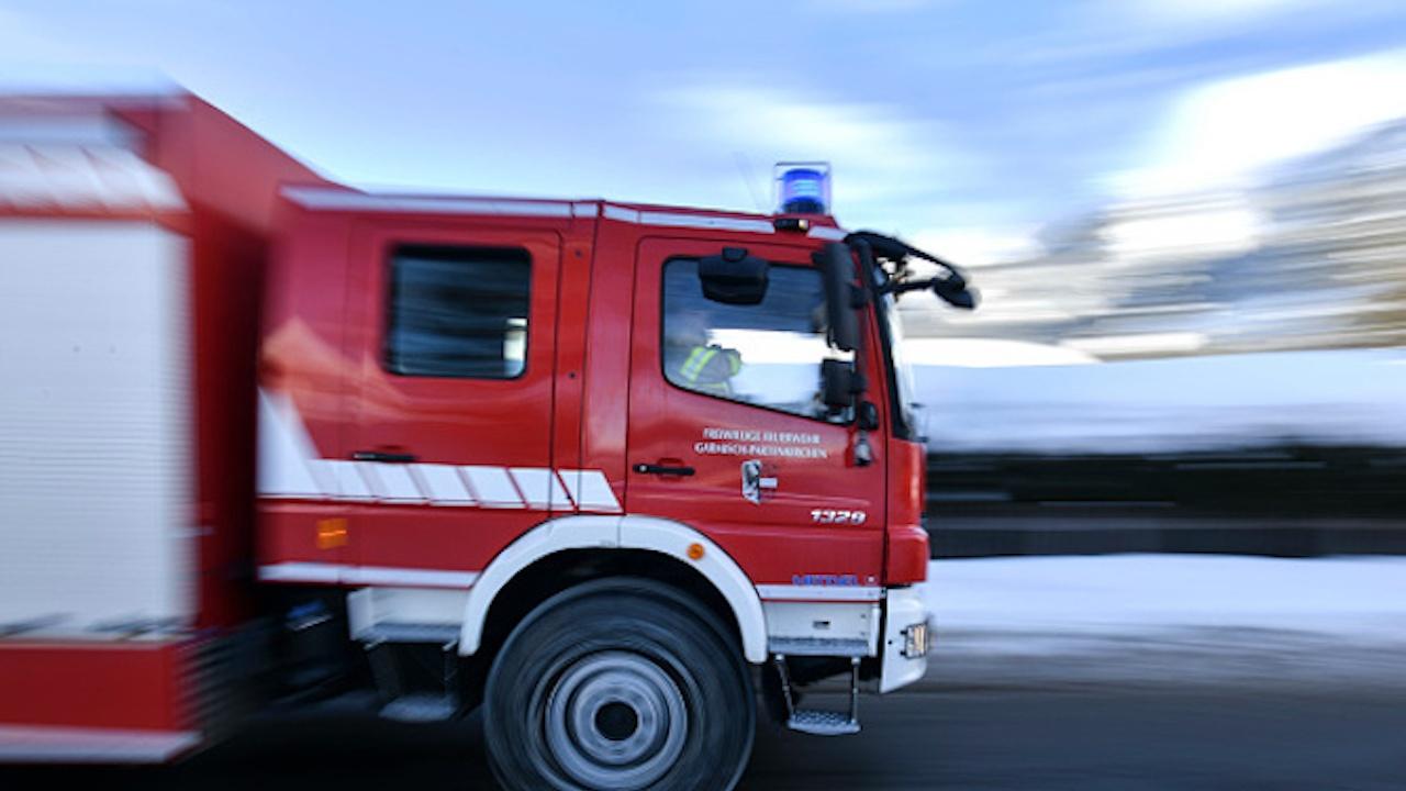 Голям пожар в центъра на Перник