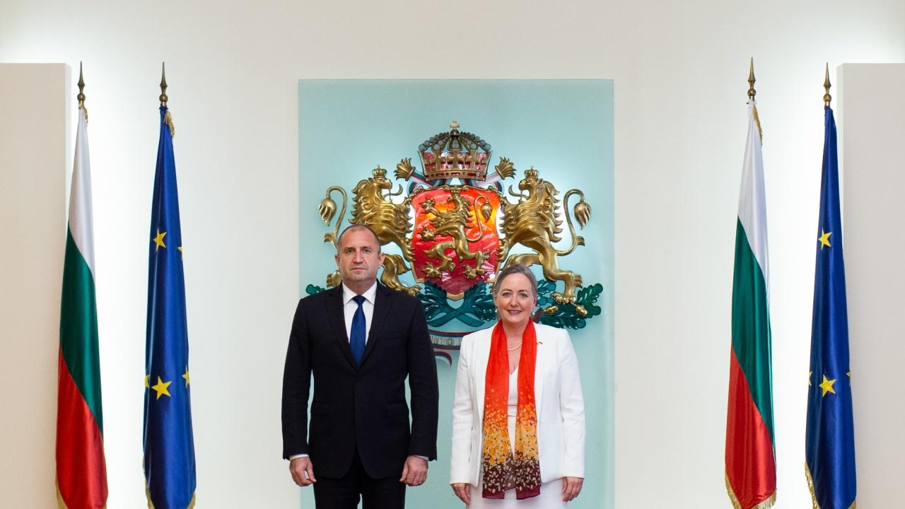 Президентът: България се стреми да разшири инвестиционното сътрудничество с Канада в сфери с висока добавена стойност