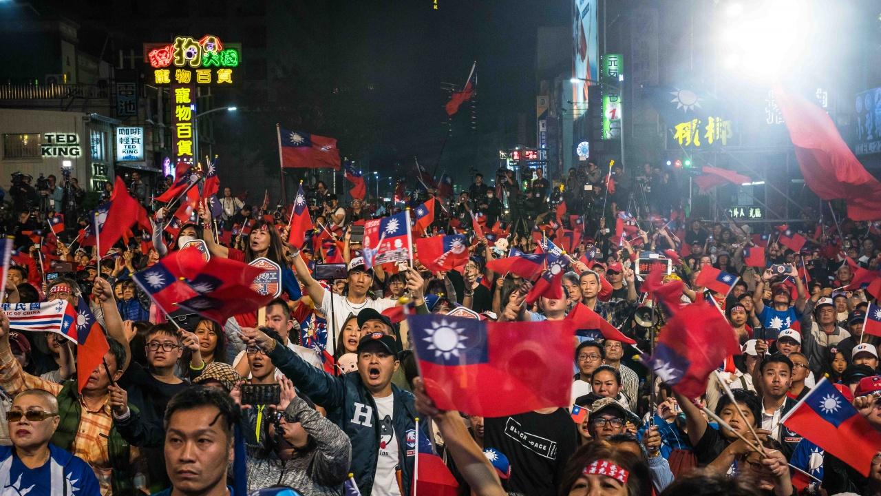 Тайван е решен да защитава демокрацията