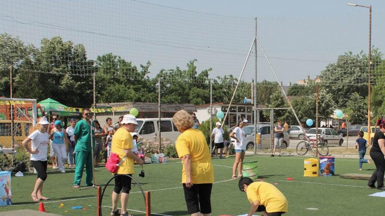 Центърът за деца с увреждания в Свиленград отпразнува 10-годишнината си
