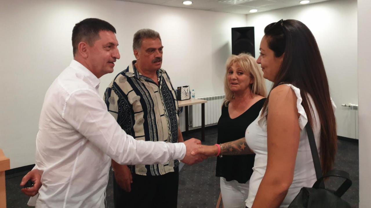 Учители и членове на синдикални организации дадоха своята подкрепа за кандидатите от ГЕРБ – СДС
