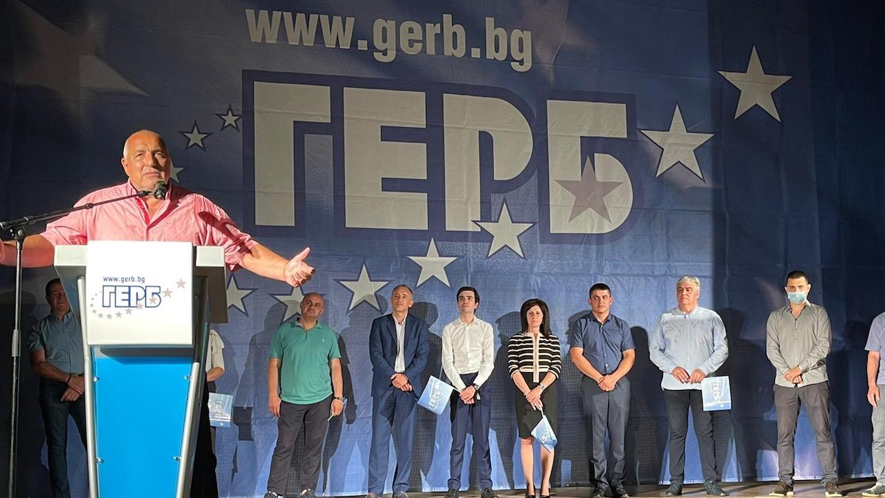 Бойко Борисов в Шумен: Същата свинщина беше и при Орешарски