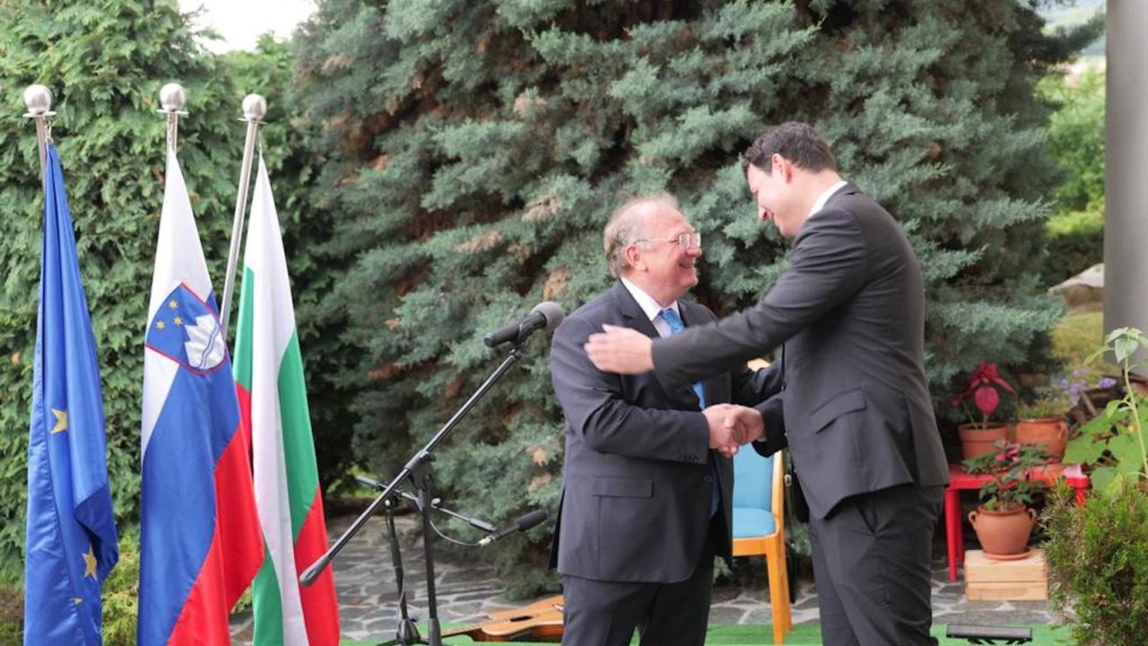 Министър Светлан Стоев поздрави Словения по случай началото на европейското й председателство