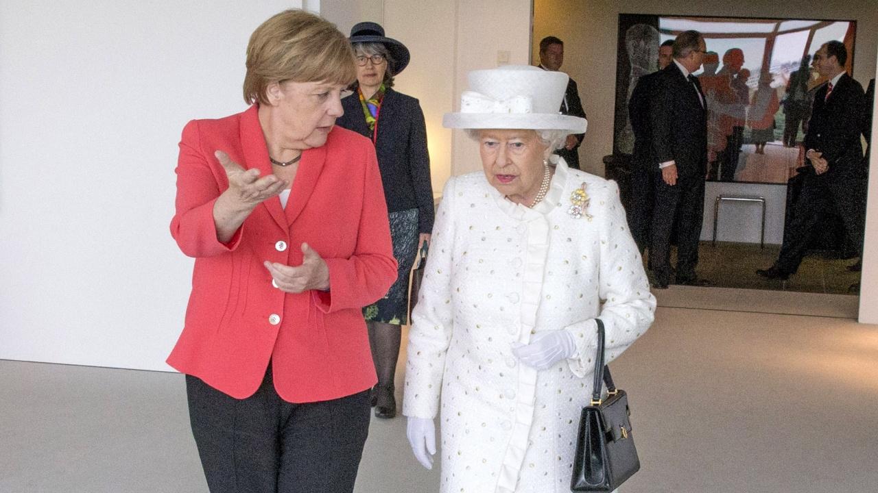 Лондон приема с почести Меркел по време на последната ѝ визита във Великобритания