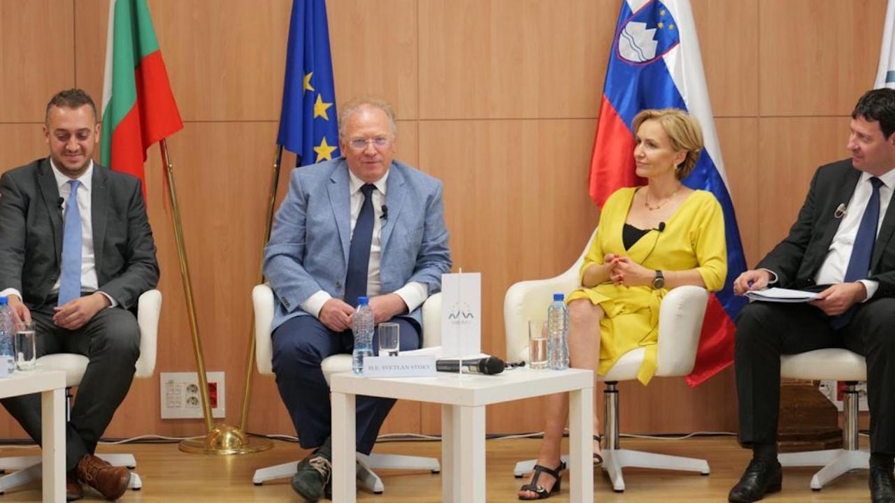 Министър Светлан Стоев приветства приоритетите на Словенското председателство на Съвета на ЕС