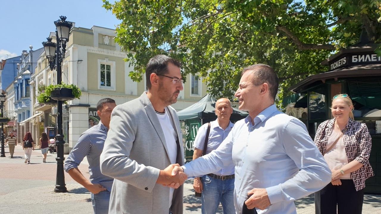 Д-р Андрей Ковачев в Пловдив: ГЕРБ има пълна подкрепа от Европейската народна партия
