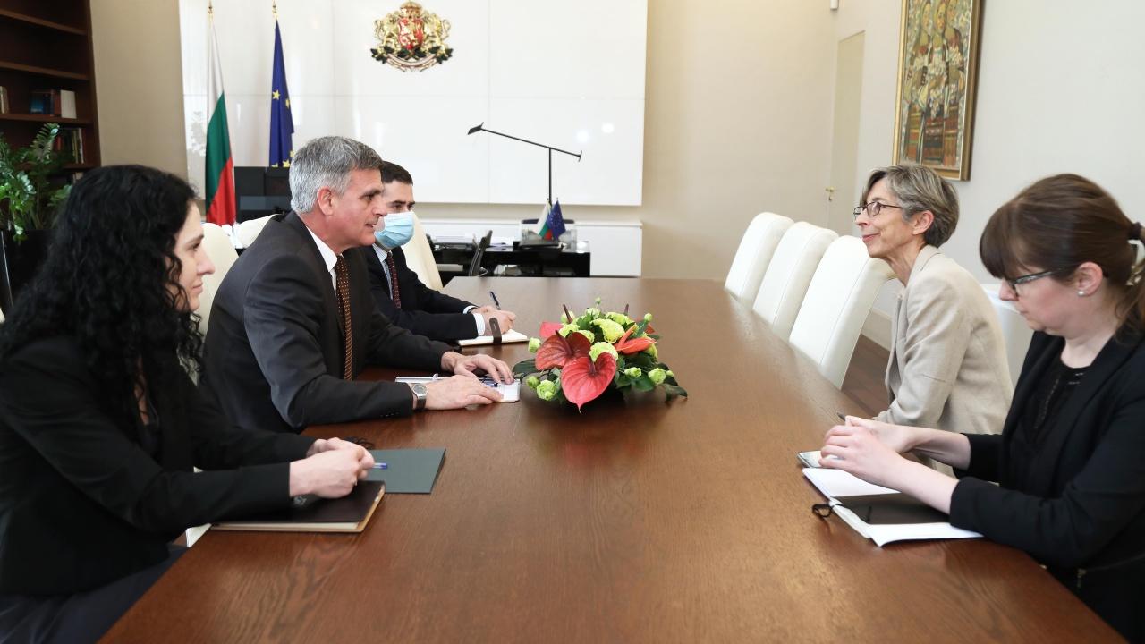Стефан Янев се срещна с ръководителя на мисията на ОССЕ за наблюдение на изборите