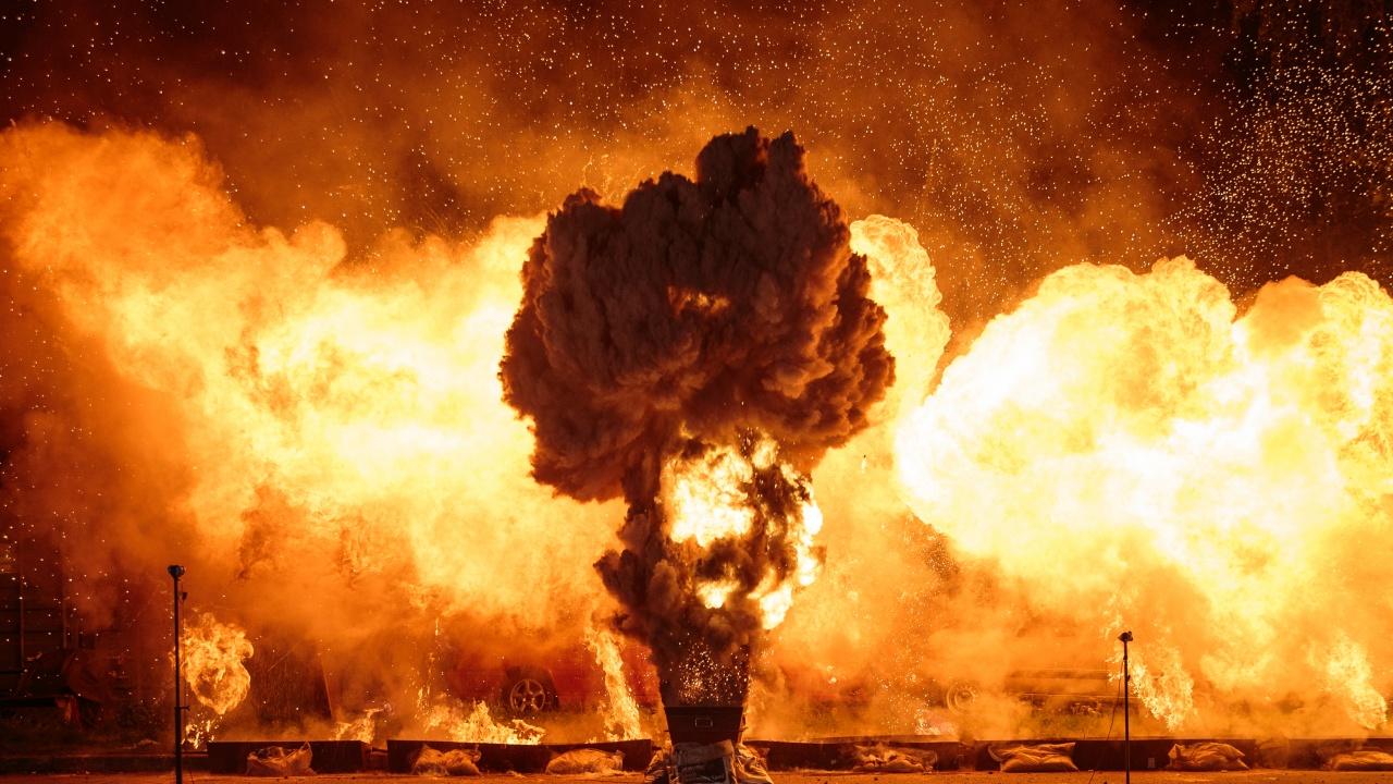 Мощна експлозия разтърси Дубай
