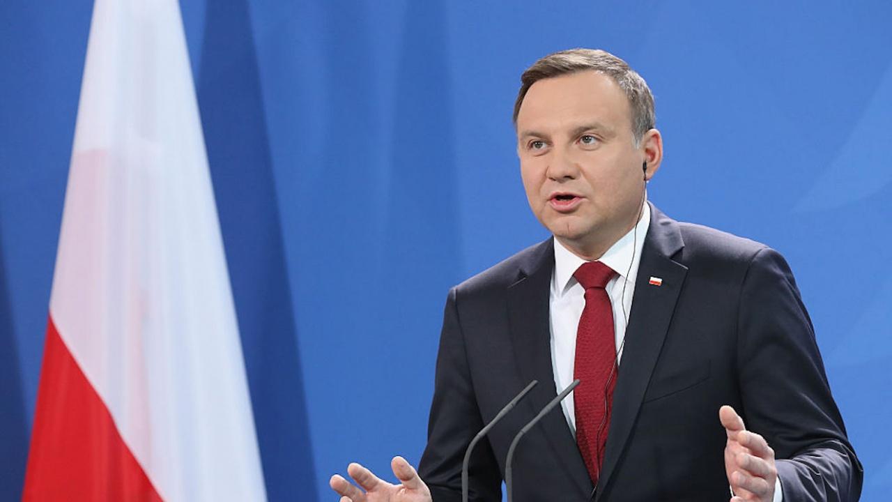 """Полският президент: Инициативата """"Три морета"""" играе ключова роля за изграждането на бъдеща Европа"""