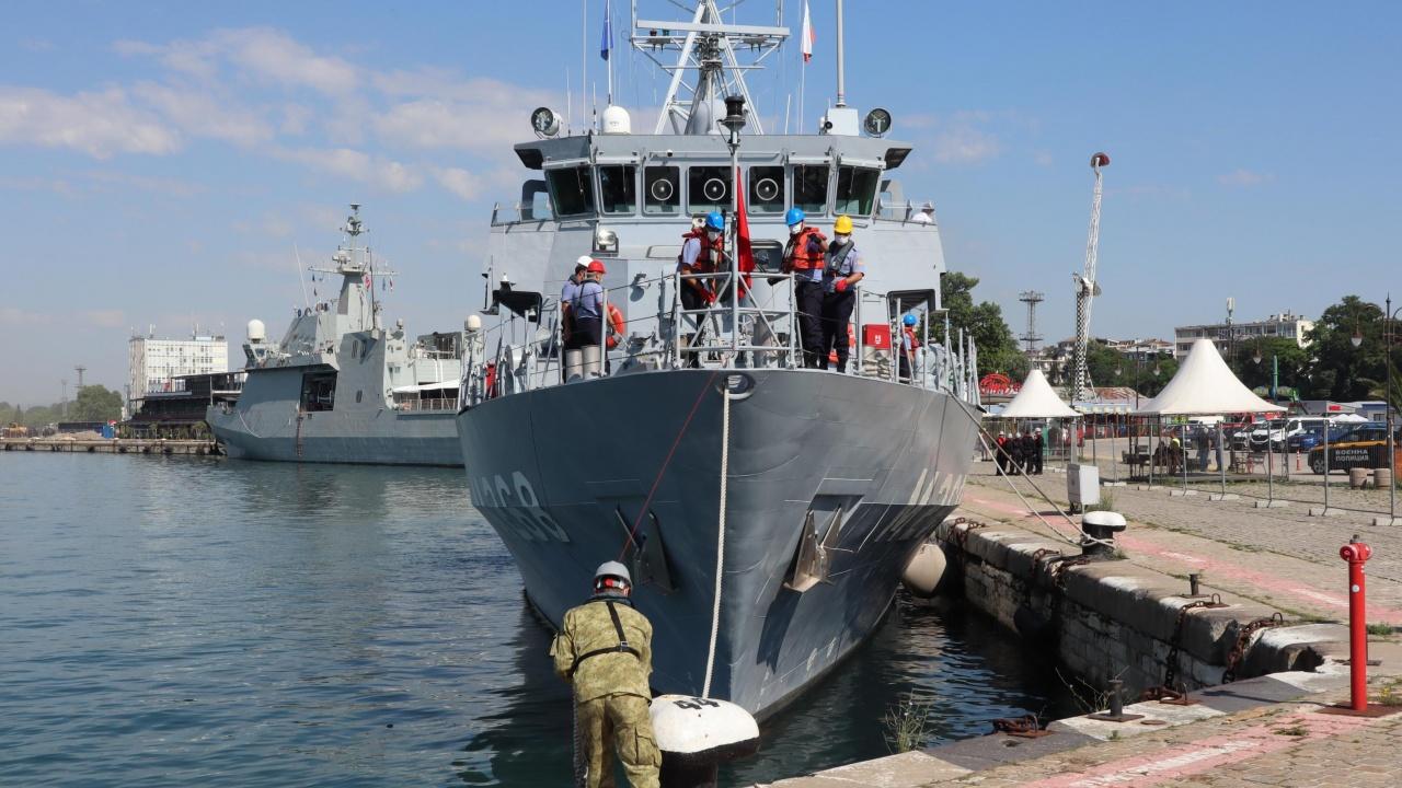 "Започва националното военноморско учение с международно участие ""Бриз 2021"""