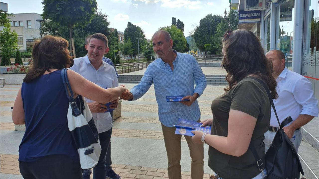 Цветанов призова жителите на Горна Оряховица и Лясковец да подкрепят Републиканци за България на 11 юли