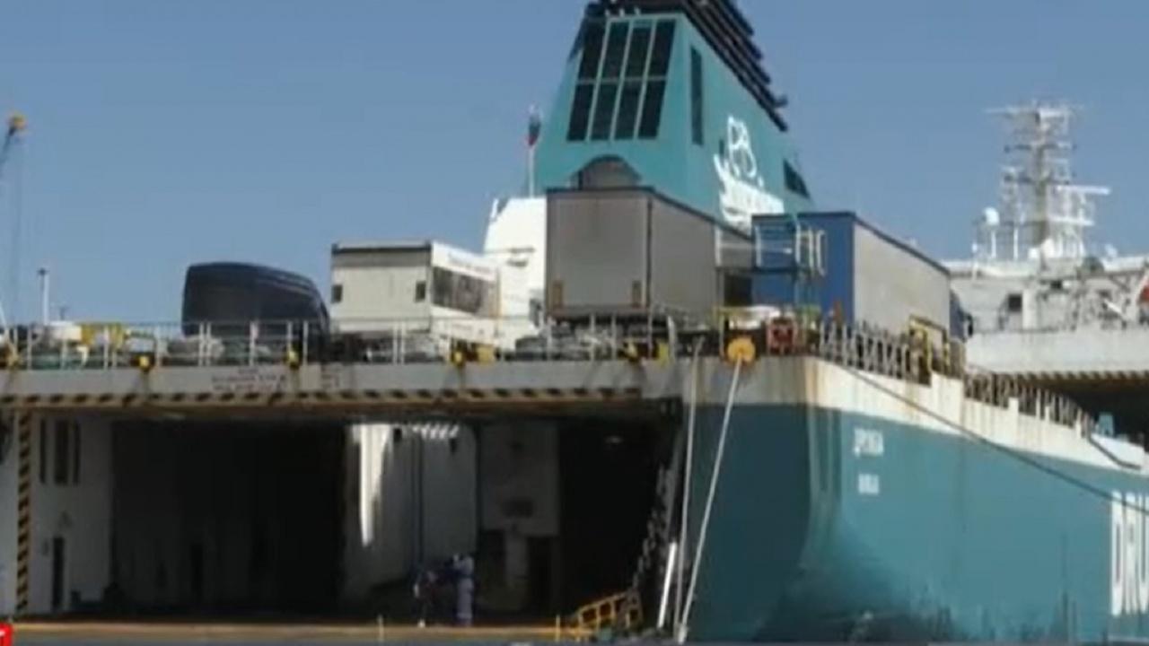 За първи път разкриват секция на кораб