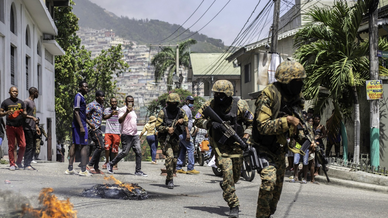 Лидер на хаитянски банди заяви, че президентът е бил пожертван