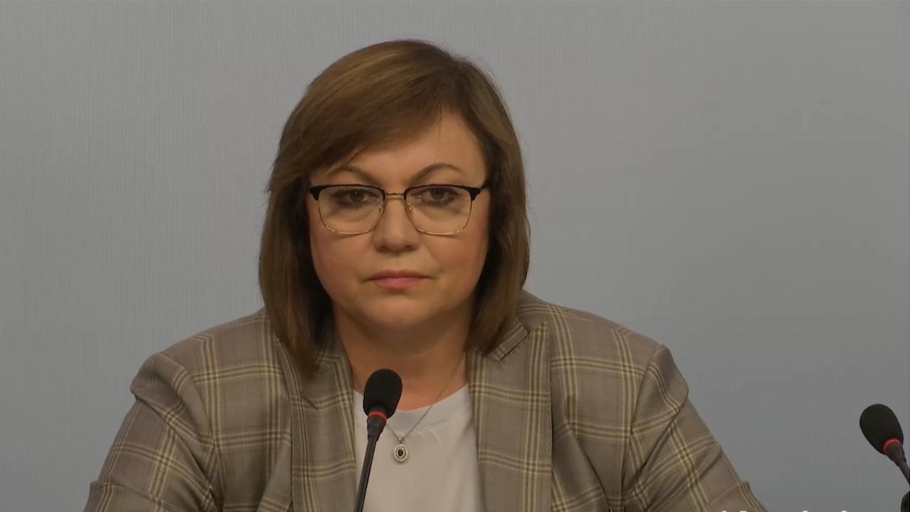Нинова: Няма да подам оставка, подкрепата ни за правителство на ИТН този път няма да е безусловна