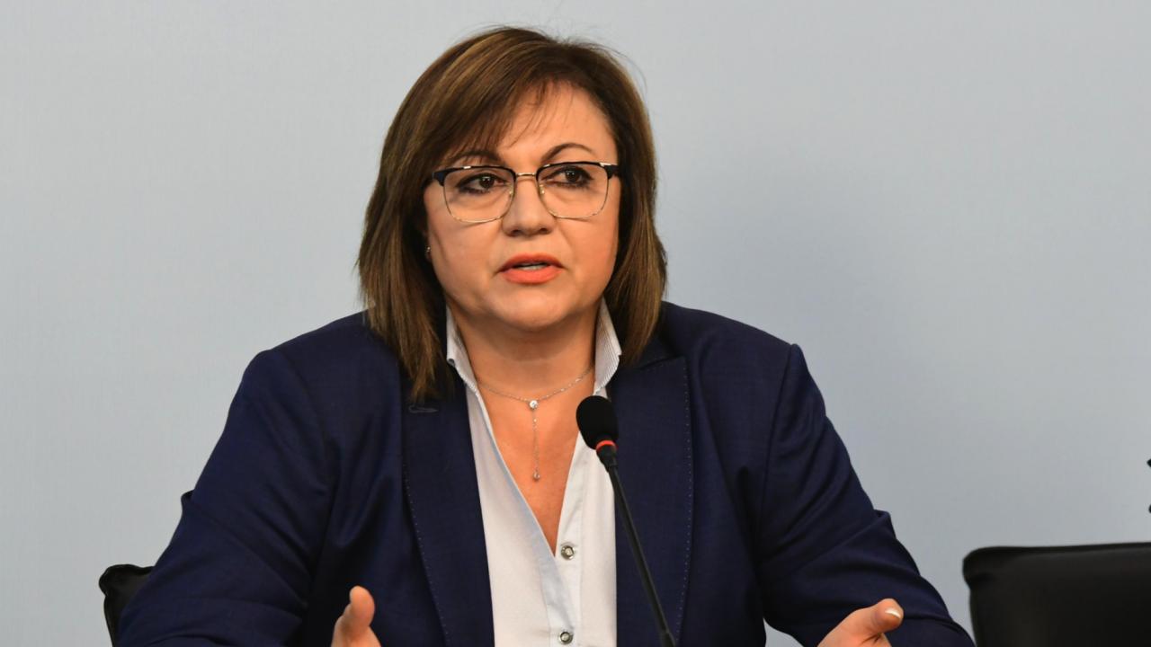 Нинова категорична: Няма да подкрепим кабинета на Слави Трифонов, ще предложим наш