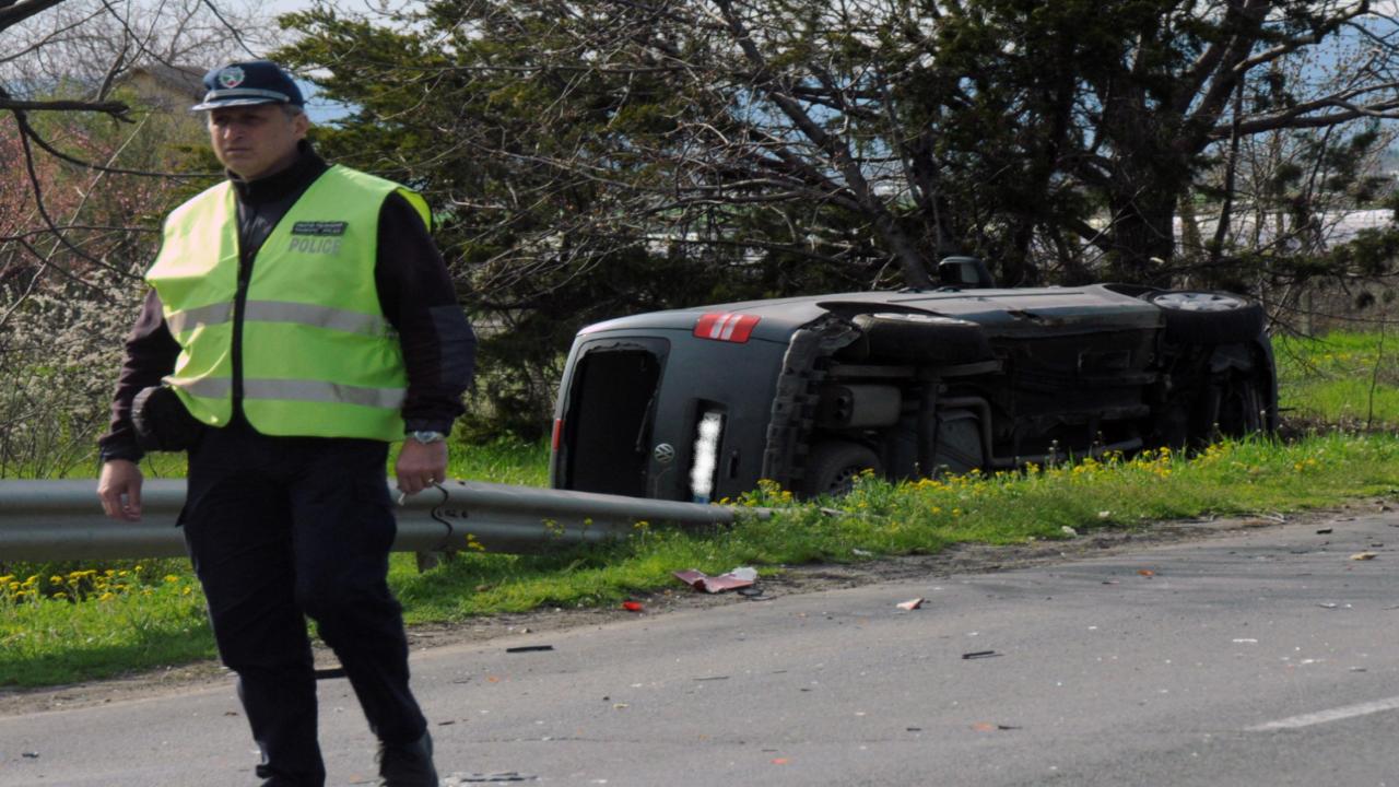 Катастрофа на околовръстния път на Видин отне два човешки живота
