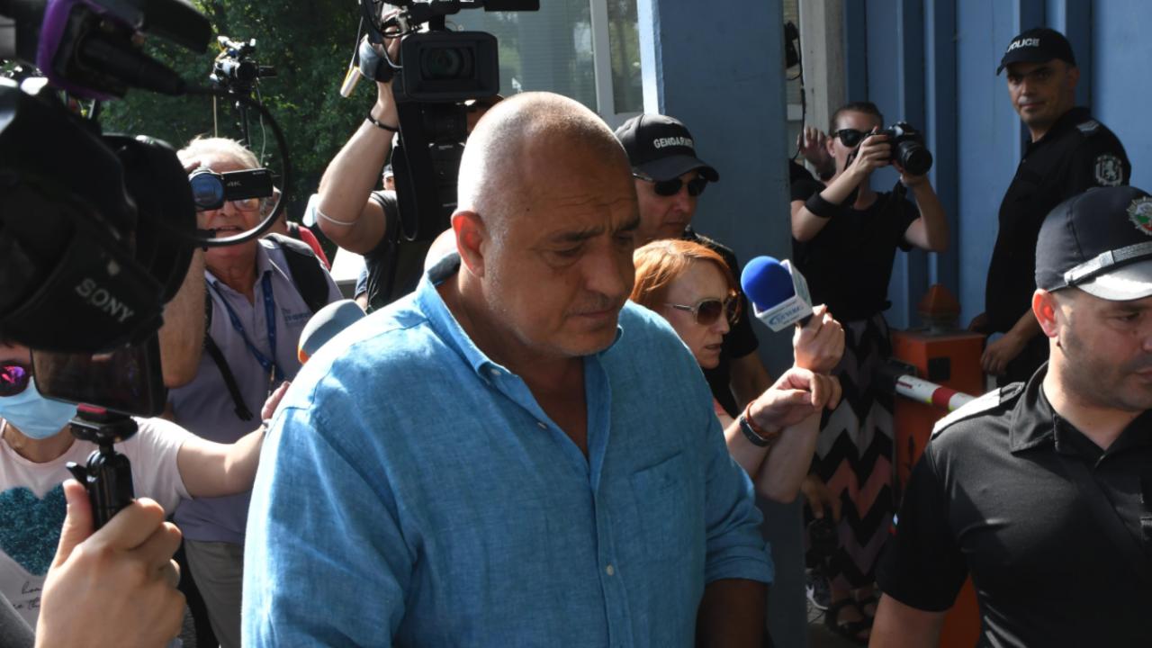 Бойко Борисов с първи думи след разпита, давал сведения по три сигнала