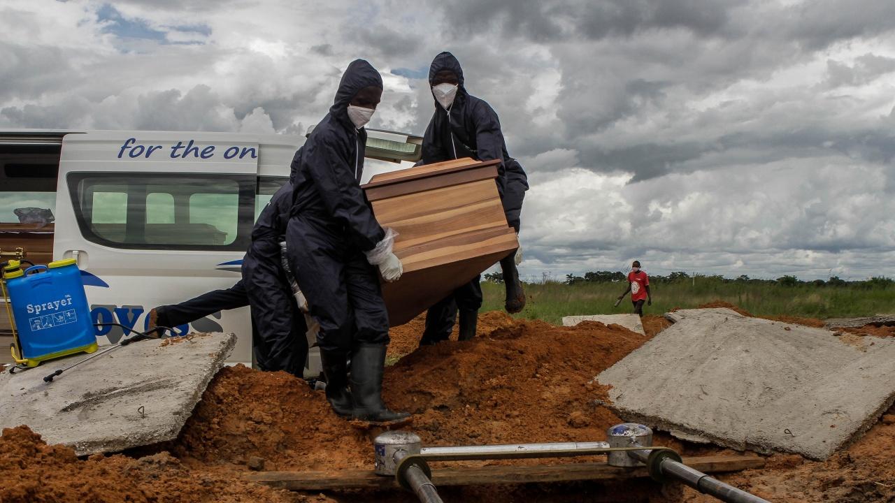СЗО отчита ръст от 43 % на смъртните случаи в Африка