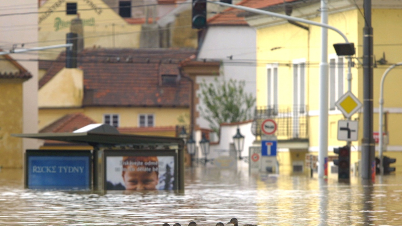 Проливни дъждове предизвикаха наводнения в Италия и Чехия