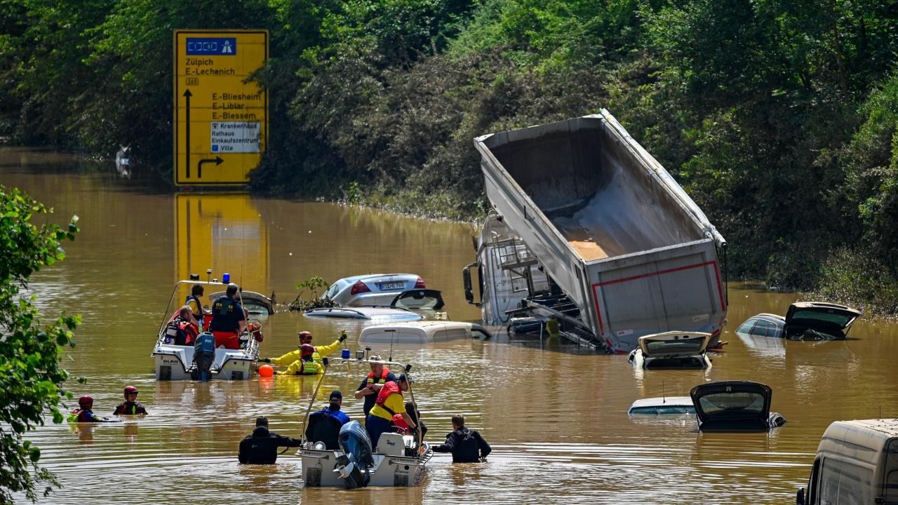 Жертвите от наводненията в Германия достигнаха 165