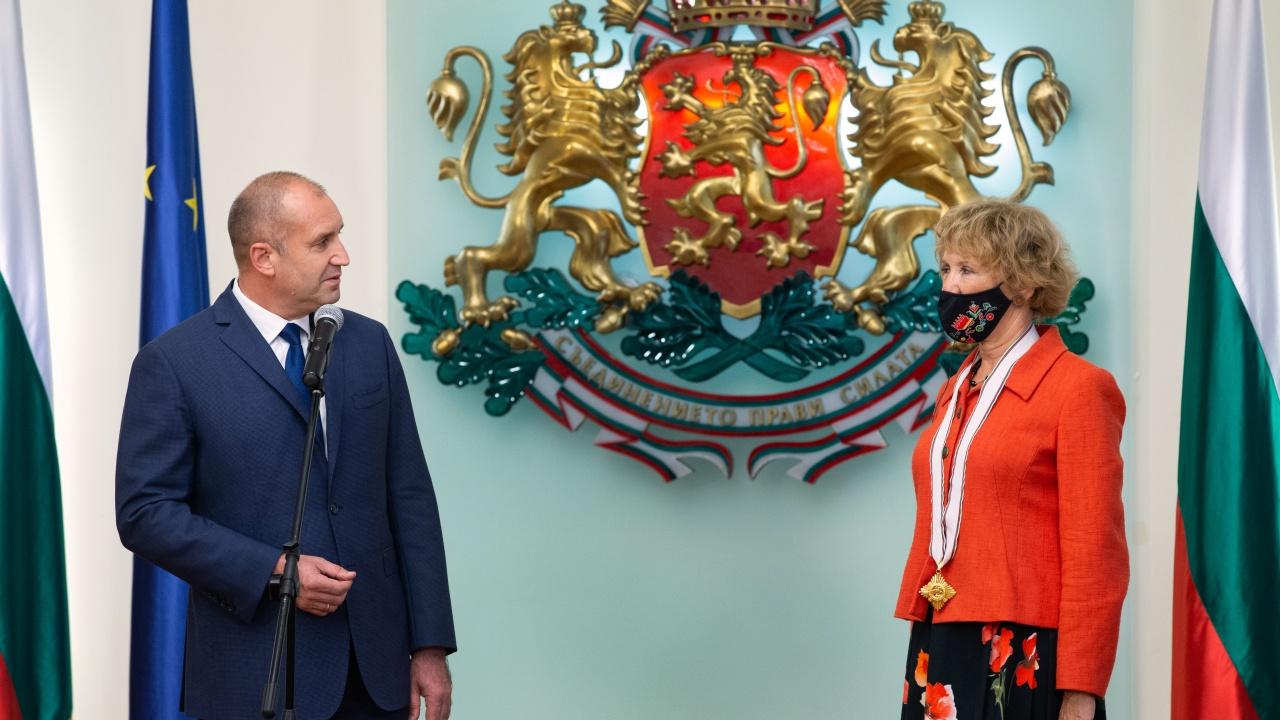 Президентът награди посланика на Кралство Нидерландия