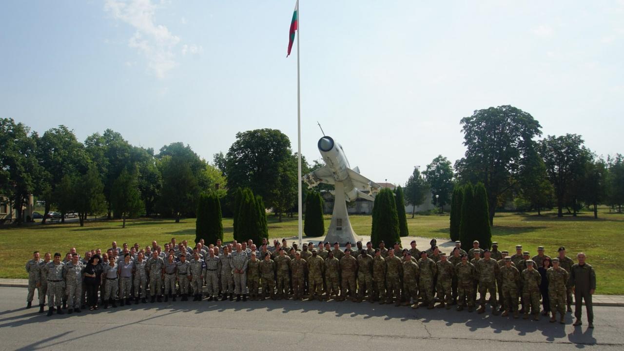 Започна съвместната подготовка на български и американски военни Falcon Defender 2021