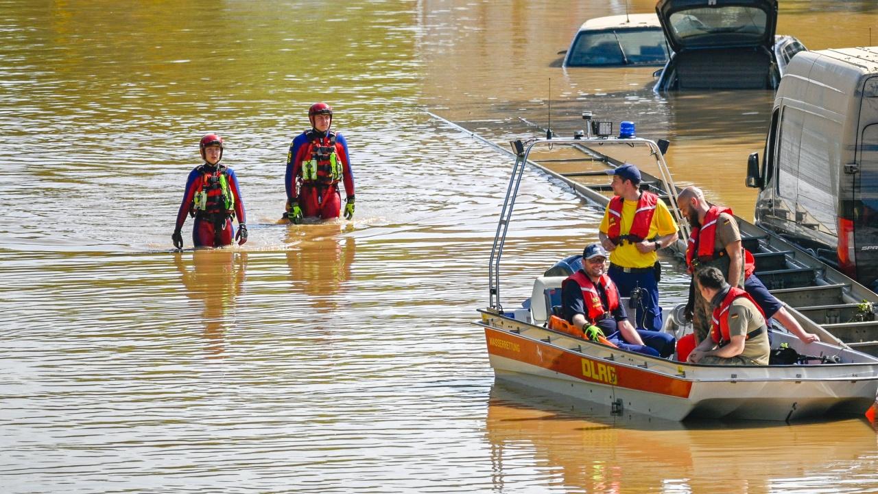 Отстраняването на последиците от наводненията в Германия ще отнеме години