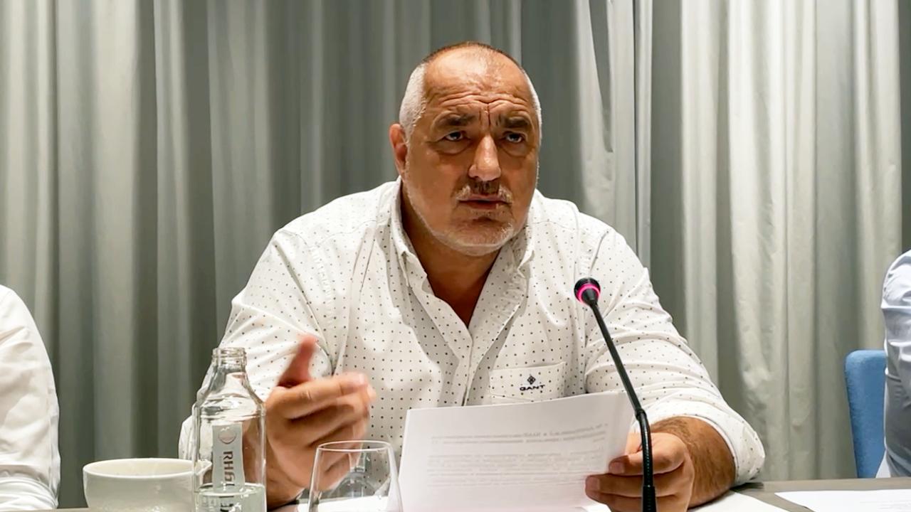 Борисов: Цялата страна видя, че Кацаров е лъжец, но Радев стои зад него