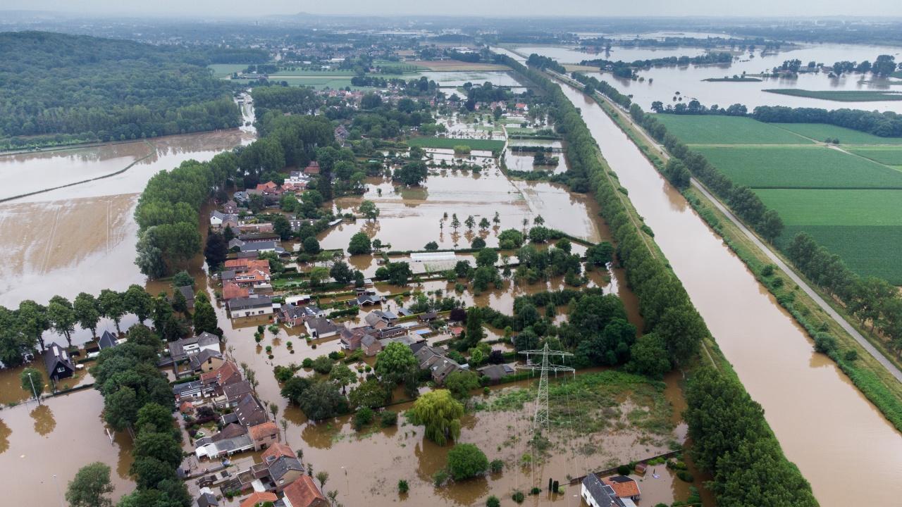 Белгия запази минута мълчание в памет на жертвите от наводненията миналата седмица