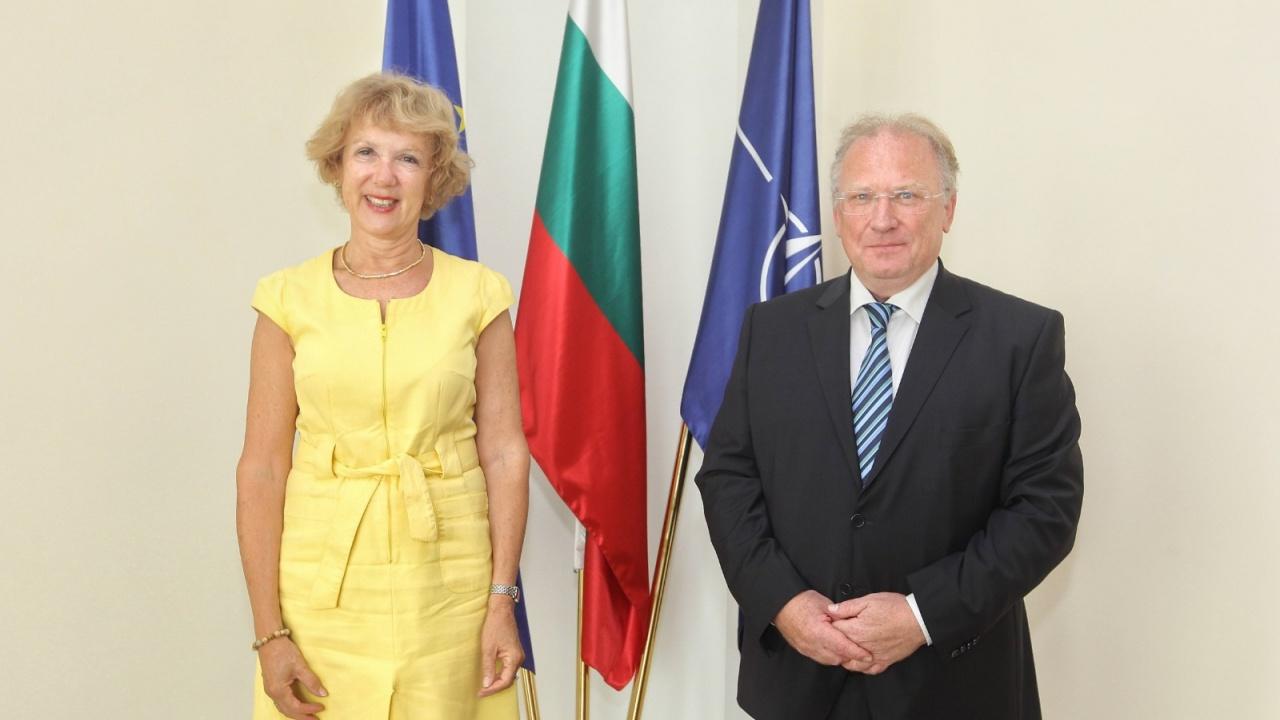 Светлан Стоев прие посланика на Нидерландия Берендина Мария Тен Тъшър